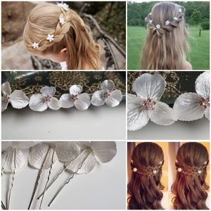 Other - Hair accessories for special o casions set of 6